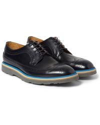 Paul Smith Contrastsole Leather Longwing Brogues - Lyst