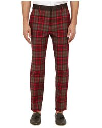 Marc Jacobs Runway Check Pant - Lyst