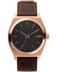 Nixon The Time Teller Watch, 37Mm - Lyst