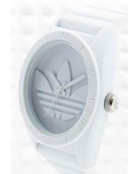 adidas - Originals Large Santiago Watch In White - Lyst
