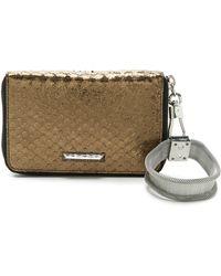 Elizabeth and James - Metallic Pyramid Smart Phone Bracelet Wallet - Anthracite - Lyst