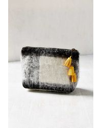 Urban Outfitters - Brushed Wool Makeup Bag - Lyst