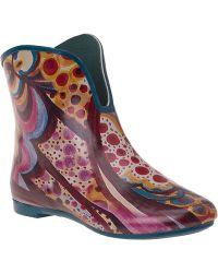 Jeffrey Campbell Vee Rain Boot Multi Rubber multicolor - Lyst