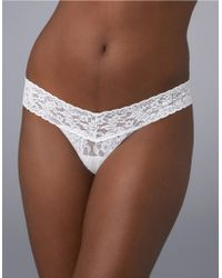 Hanky Panky I Do Low Rise Thong - Lyst