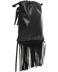 Asos Leather Festival Cross Body Bag - Lyst