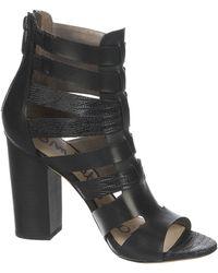 Sam Edelman Yazmine High-Heel Leather Sandals - Lyst