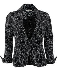 Nina Ricci Black Dot Jacket - Lyst