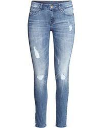 H&M Jeans Super Skinny Fit - Lyst