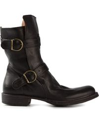 Fiorentini + Baker Double Buckle Boots - Lyst