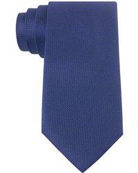 Calvin Klein Textured Silk Tie - Lyst