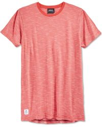 Wesc Kendy Striped T-Shirt red - Lyst
