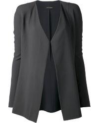 Narciso Rodriguez Contrast Lapel Jacket - Lyst