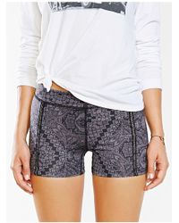 Without Walls - Scarf Paisley Print Training Short - Lyst