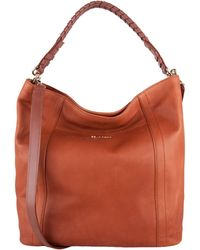 Cole Haan Felicity Leather Double-Strap Hobo Bag - Lyst