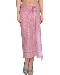Antik Batik Sarong pink - Lyst