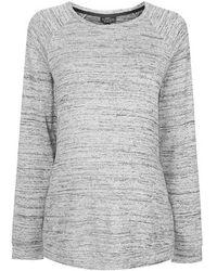 Topshop Maternity Space Dye Lounge Sweat gray - Lyst