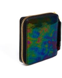 Lulu Guinness Oil Slick Square Coin Purse - Lyst