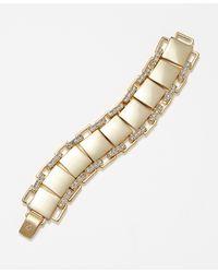 Ann Taylor Cityscape Bracelet - Lyst