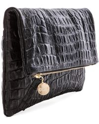 Clare V. Gray Foldover Clutch - Lyst