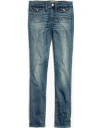 Madewell High Riser Skinny Skinny Crop Jeans: Patch-Pocket Edition - Lyst