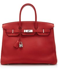 Heritage Auctions Special Collection Hermes 35cm Rouge Casaque Togo Birkin - Lyst