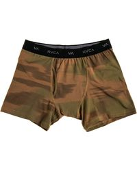 RVCA The Skivvy Boxer Brief - Lyst