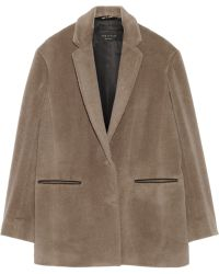 Rag & Bone Sigrid Suri Alpaca and Wool-blend Coat - Lyst