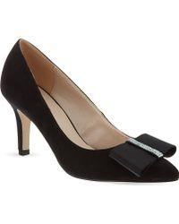 Nine West Tiffany Court Shoes Black - Lyst