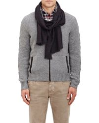 Luciano Barbera - Paisley Cashmere Scarf - Lyst