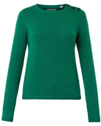 Chinti And Parker Starbutton Cashmere Sweater - Lyst