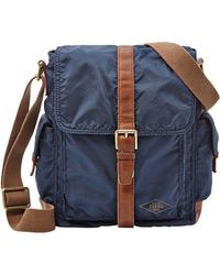 Fossil - Buckle Commuter Bag - Lyst