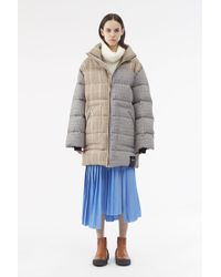3.1 Phillip Lim - Reversible Oversized Down Puffer Coat - Lyst