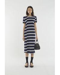 3.1 Phillip Lim - Striped Midi Dress - Lyst