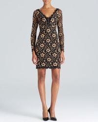 Karen Kane Scallop Lace Dress - Lyst