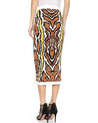 Torn By Ronny Kobo - Katya Skirt - Yellow/neutral - Lyst