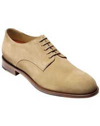 Cole Haan Carter Grand Suede Plain Toe Oxfords - Lyst