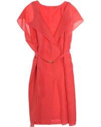 Fendi Silk Dress - Lyst