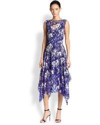 Jean Paul Gaultier Floral Dress - Lyst