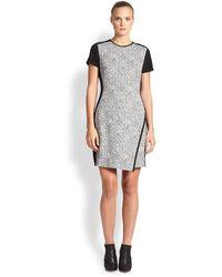 Shoshanna Etched Jacquard Dress - Lyst