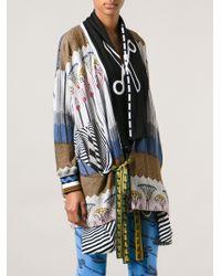 Bernhard Willhelm - Floral Knit Kimono Jacket - Lyst