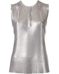 Paco Rabanne Chainmail Top - Lyst