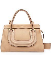 Chloé Everston Medium Double Satchel Bag - Lyst