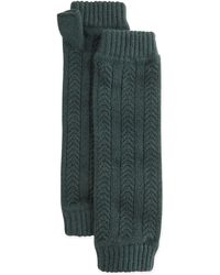 Brora - Cashmere Cable-knit Wrist Warmers - Lyst