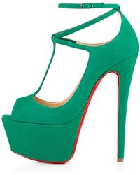 Christian Louboutin Talitha Suede - Lyst