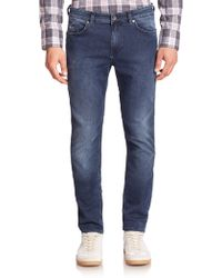BOSS | Delaware Stretch-cotton Slim-fit Jeans | Lyst