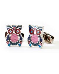 Duchamp Owl Cuff Links - Lyst