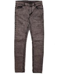 Cheap Monday Tight Jeans Grey Black In Skinny Fit - Lyst