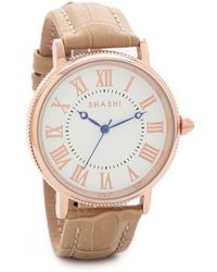 Shashi - Classique Watch - Rose Gold/Nude - Lyst