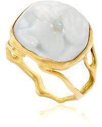 Annette Ferdinandsen - Pearl Branch Ring - Lyst