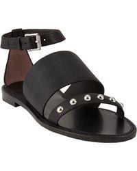Belstaff - Camden Studded Anklestrap Sandals - Lyst
